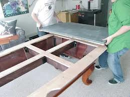 Pool table moves in Winston North Carolina