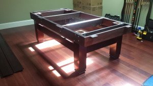 Correctly performing pool table installations, Winston North Carolina