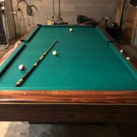 9 ft Gandy Pool Table