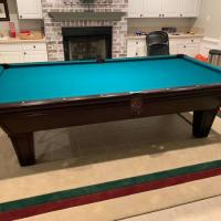 9-Ft Brunswick Brookstone II Cherry Pool Table