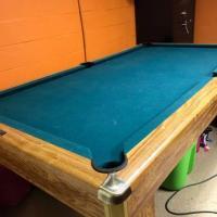 Slate Bottom Pool Table
