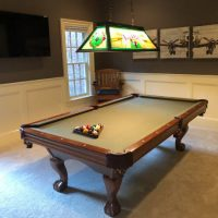 Brunswick Contender Pool Table Great Shape