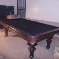 Italian Slate Pool Table (SOLD)