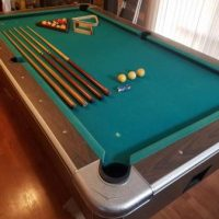 United Billiards Slate Pool Table