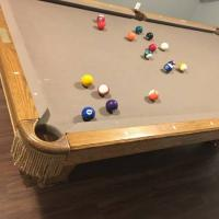 Brunswick Pool Table 12 Foot