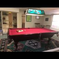 Brunswick 8 Foot Pool Table